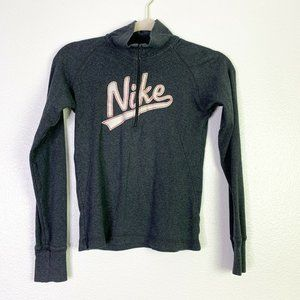 Nike Womens Long Sleeve Front Embroidered Jacket S